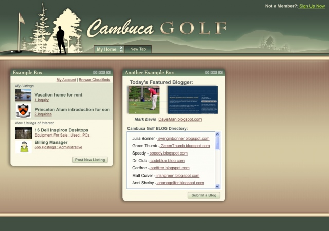 Cambuca Golf - Comp