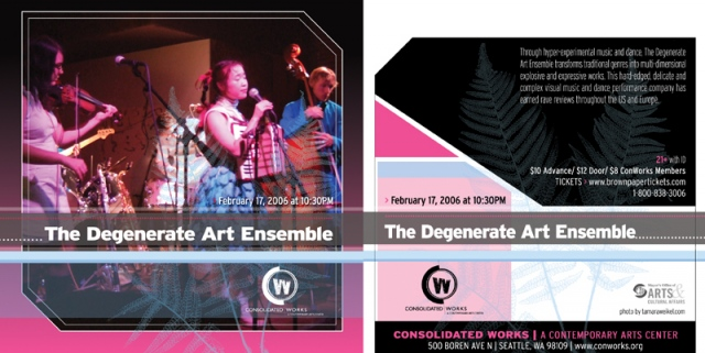 Degenerate Art Ensemble