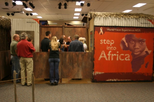 World Vision - Step Into Africa Exhibit