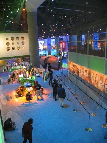XBOX @ E3 - 2nd Floor View : Theatre