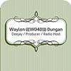 Waylon Dungan card