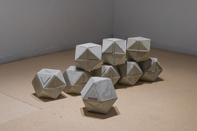 "Cuboctohedrons  ""Reconstruction"" Highways Performance Space Santa Monica, CA"