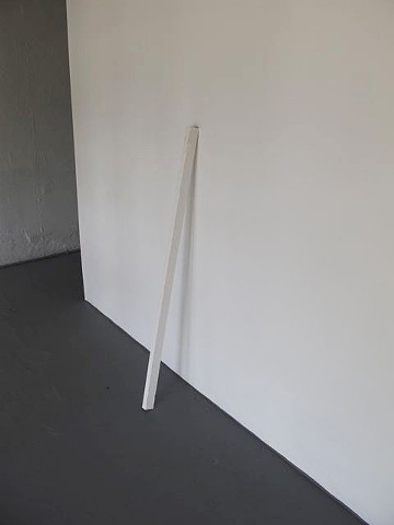 Alice Clements Walking Stick 2010 Plaster