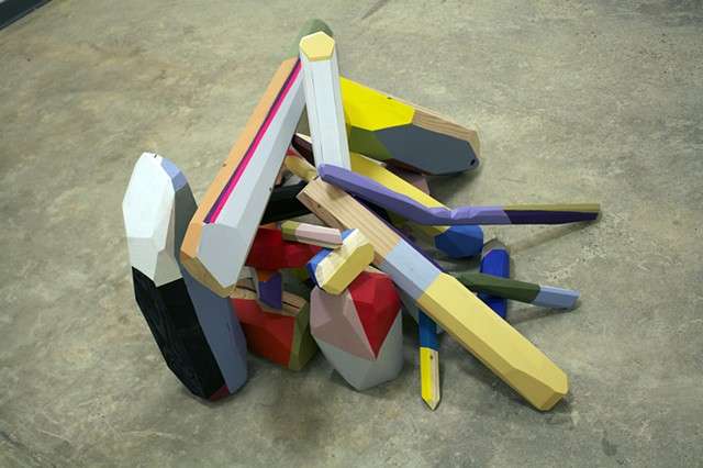 Alex Schechter Sculpture, 2014