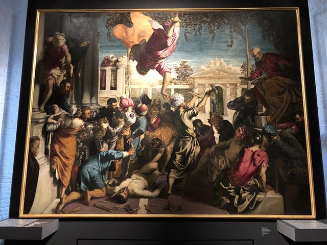 """Just came back from Venice. It's the 500th birthday of Tintoretto""T"