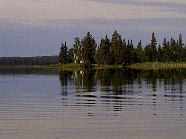Emma Lake and surroundings