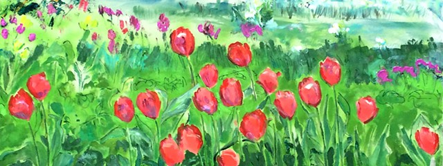 Tulips with Shadow 15