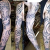 Black n grey sleeve