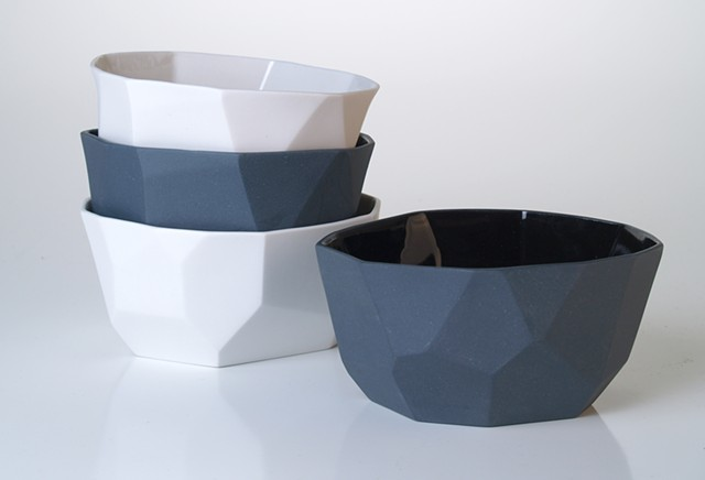 Small Facet Bowls