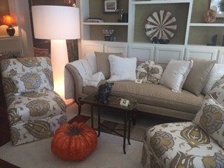 Turn of Century Sofa Rebuilt and Upholstered with Kravet Fabric