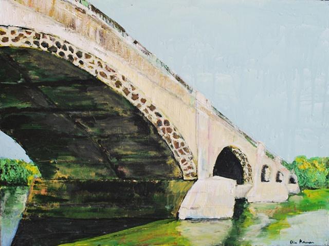 Columbia Ave. Bridge - Schuylkill River