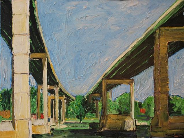 Twin Bridges – Route 1 City Line Avenue  Schuylkill River