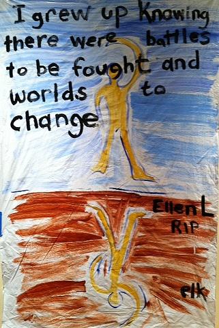 Ellen L RIP, painted by elk