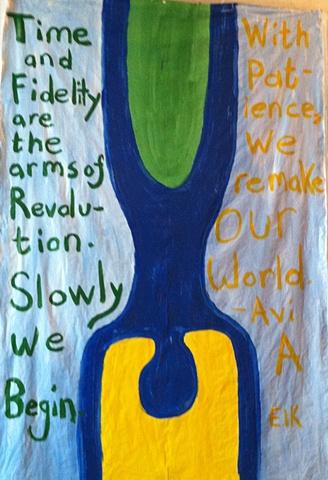Avi A painted by ELK