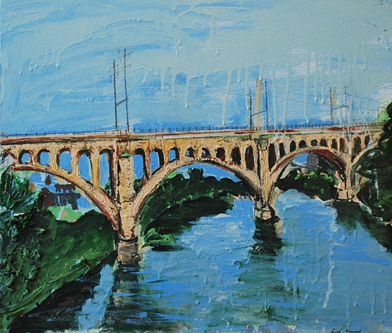 Manayunk Bridge Schuylkill River