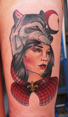 Wolfhead Girl by Kitty Dearest
