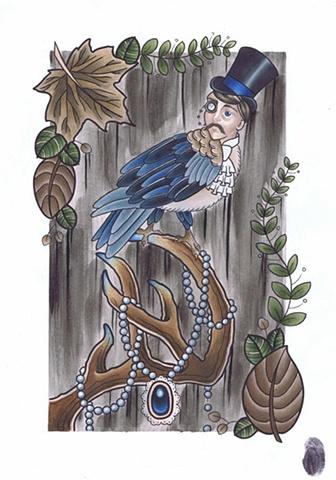 Bird Folk - Gentleman by Kitty Dearest.