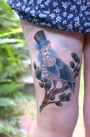 Gentleman Bird by Kitty Dearest.