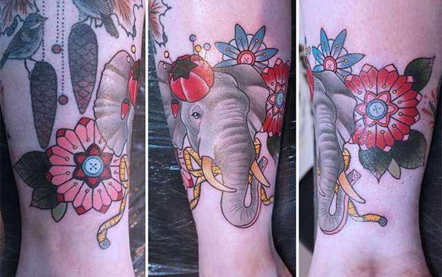 Crafty Elephant by Kitty Dearest