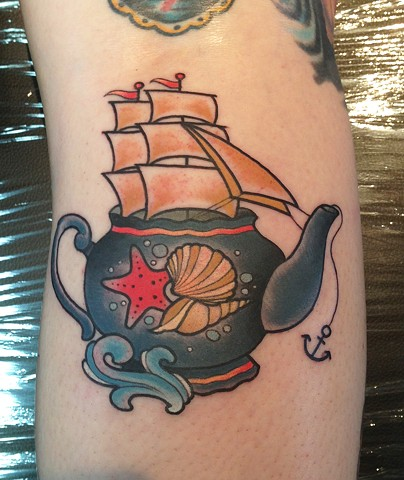 Teapot Ship by Kitty Dearest