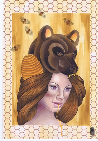 Honey Bear by Kitty Dearest.