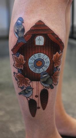 Cuckoo clock by Kitty Dearest