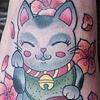 Right Lucky Cat by Kitty Dearest
