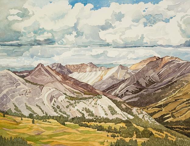White Cloud Mountains