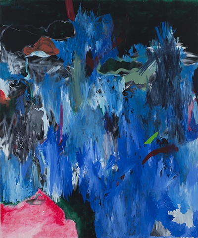 Mirana Zuger abstraction recent work abstract painting monster mash