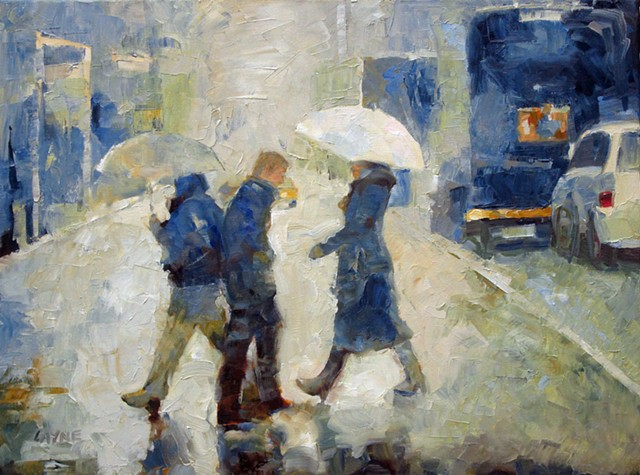 Crossing Strangers (Sold)