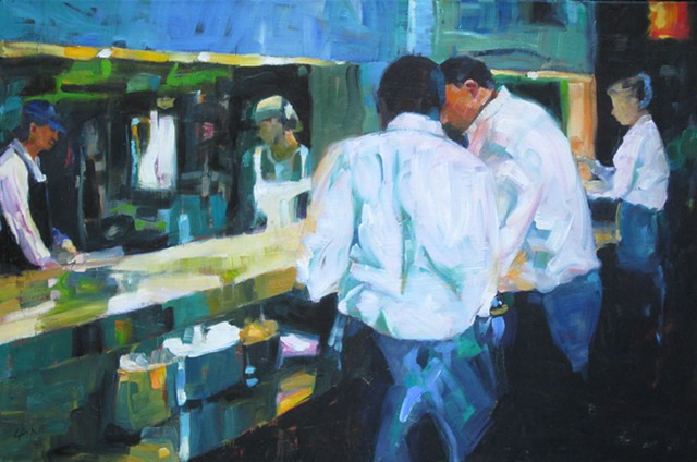 Waitstaff at Irving Street (SOLD)