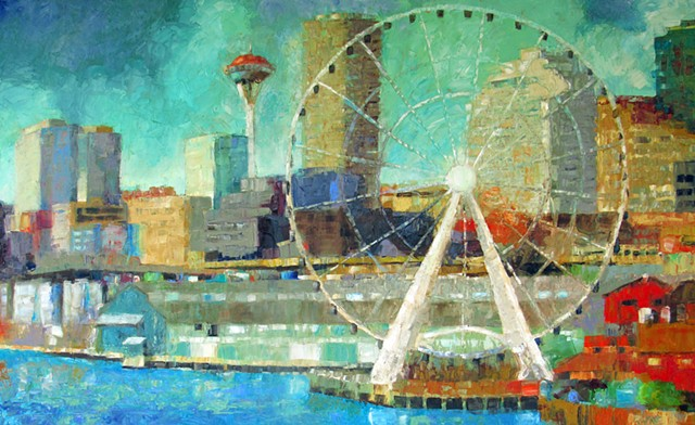 Circling Seattle (SOLD)