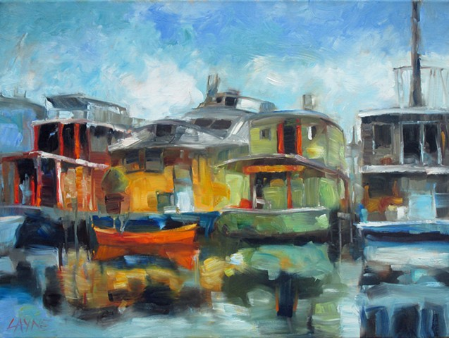Life on the Water (Sold)