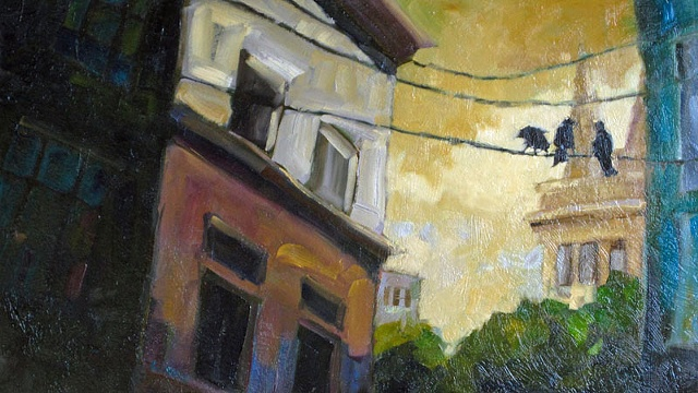 Everywhere a Crow Crow (SOLD)
