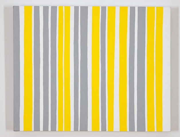 Permutations in Gray, Yellow, and White #9