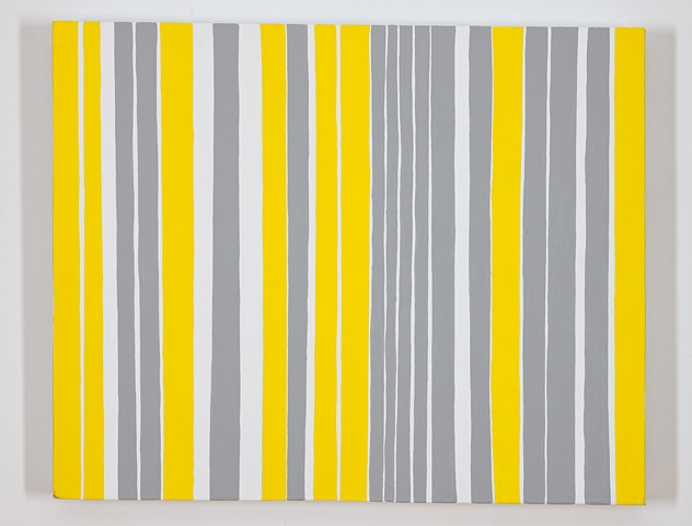 Permutations in Gray, Yellow, and White #12