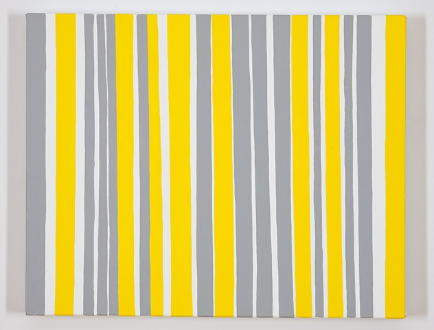 Permutations in Gray, Yellow, and White #14
