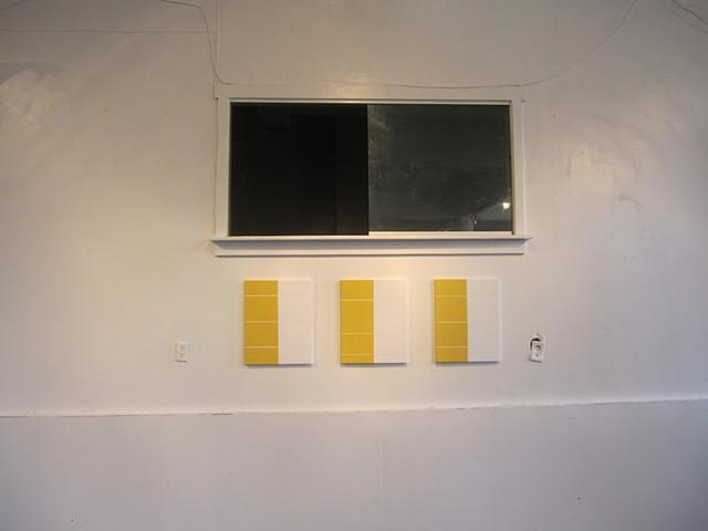 Breathe Yellow White, Gallery Image