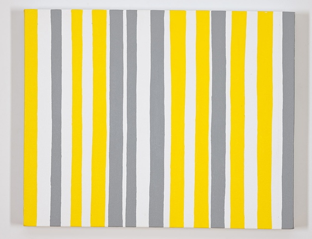 Permutations in Gray, Yellow, and White #10