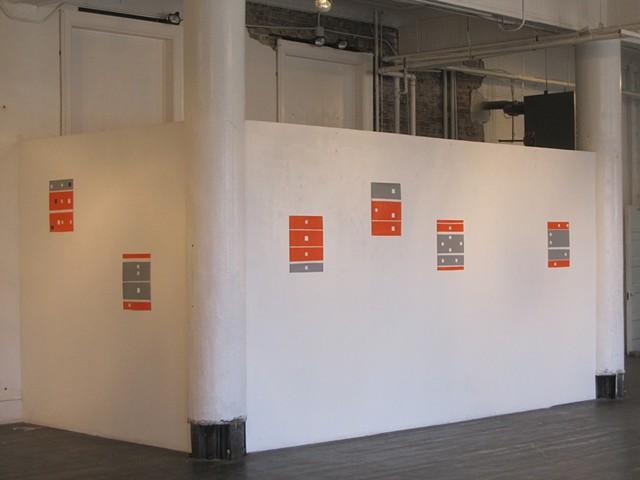 Orange/Grey/White Series, Gallery Image