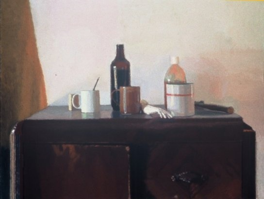 Still Life with Liquin Bottle
