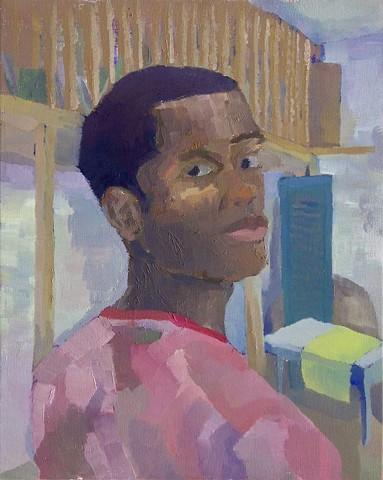 Self Portrait (Figure/Space/Rhythm)
