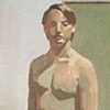 Nude Self Portrait with Cruiser