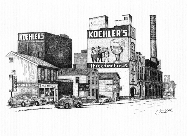 The Koehler Brewery, Erie, PA USA