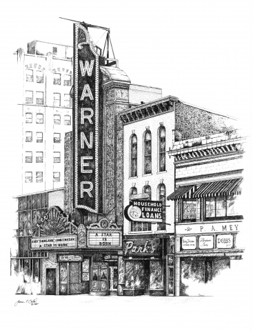 The Warner Theatre, Erie, PA USA