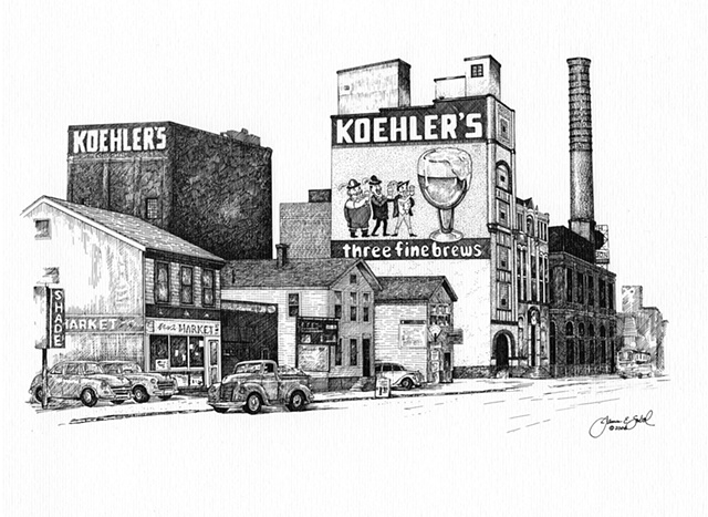 The Koehler Brewery. Erie, PA USA