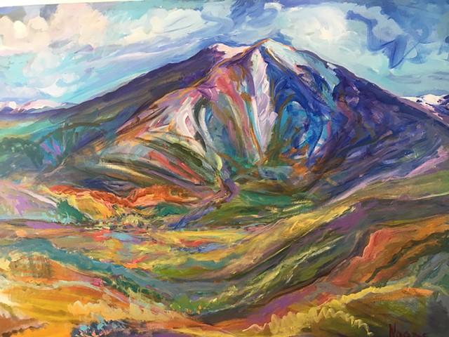 Mount Sopris in all her grandeur....