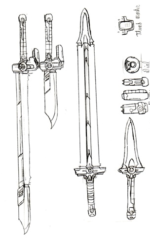 BeamSword Concept