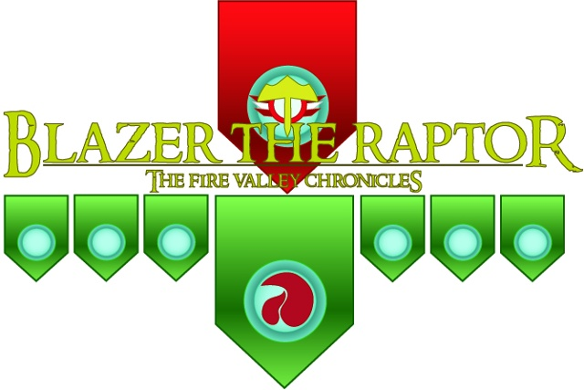 Blazer the Raptor logo