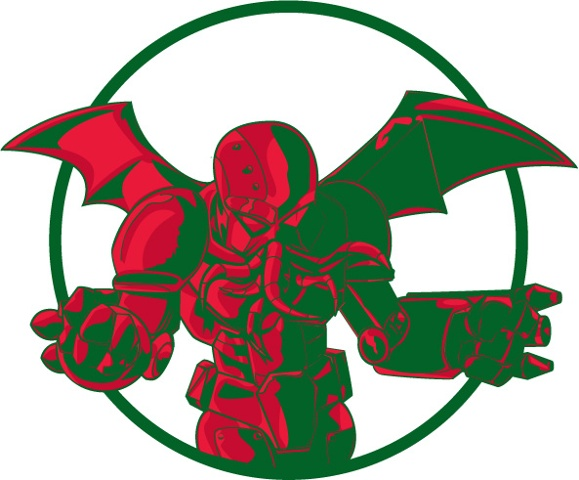 logo of the all powerful Cthulu, as a mech